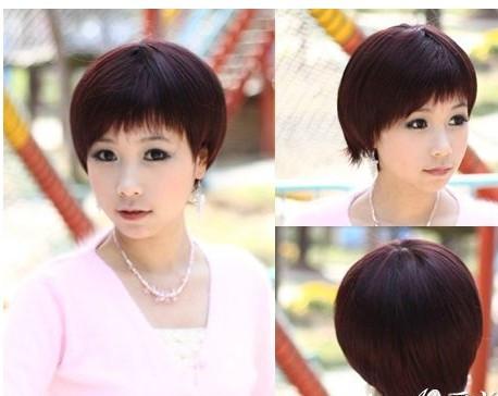 求短发发型(初一女学生)的图片