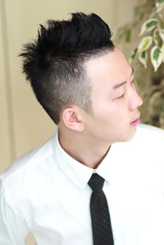 前卫韩国男生刘海发型图片(3)图片
