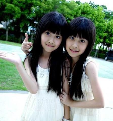 台湾最美双胞胎sandy mandy近照高清图片