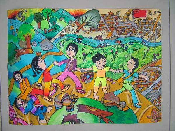 琴棋书画 > 六年级上册图画的画  安全在我心中图画 六年级程度的有木图片